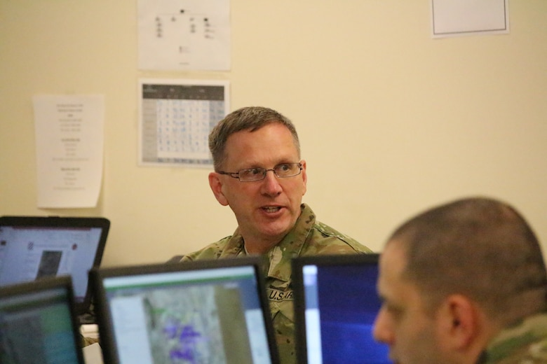 'Old-School Way' in a high-tech environment: Junior Army Reserve Soldiers train on analog systems