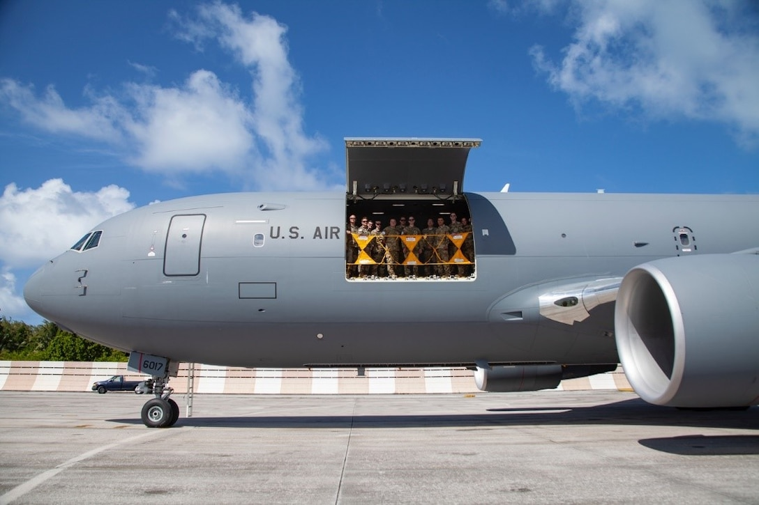 KC-46 completes first around-the-world flight