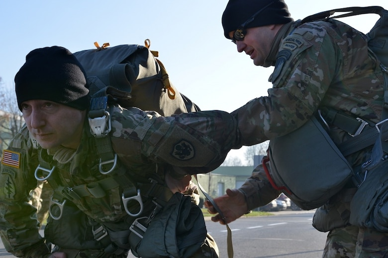 The 19th SFG (A) and the 352nd SOW's forward presence in Europe enable the ability to work closely with other NATO allies and partners to sharpen their proficiencies in airborne operations across Europe