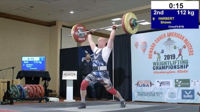 142nd FW Chief represents ORANG as a competitive weightlifter