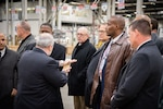 Army War College class tours Eastern Distribution Center, receives firsthand look at the global logistics in action