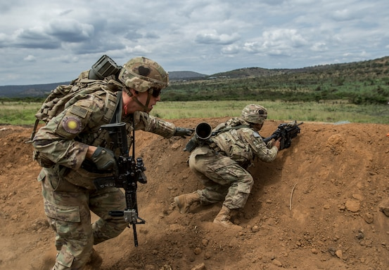Shared Accord 2019 Live Fire Exercise