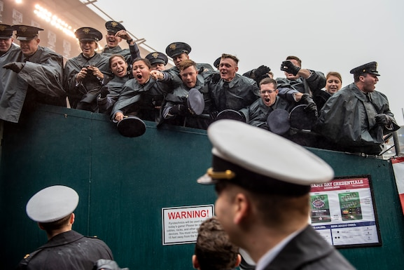 Navy beats Army in 120th matchup