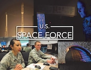 Graphic depicting U.S. Space Force