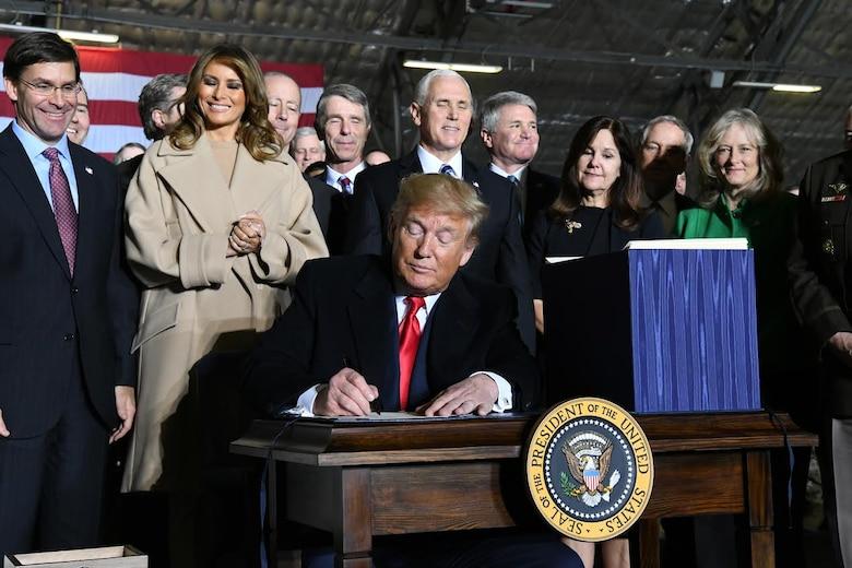 2020 NDAA Signing