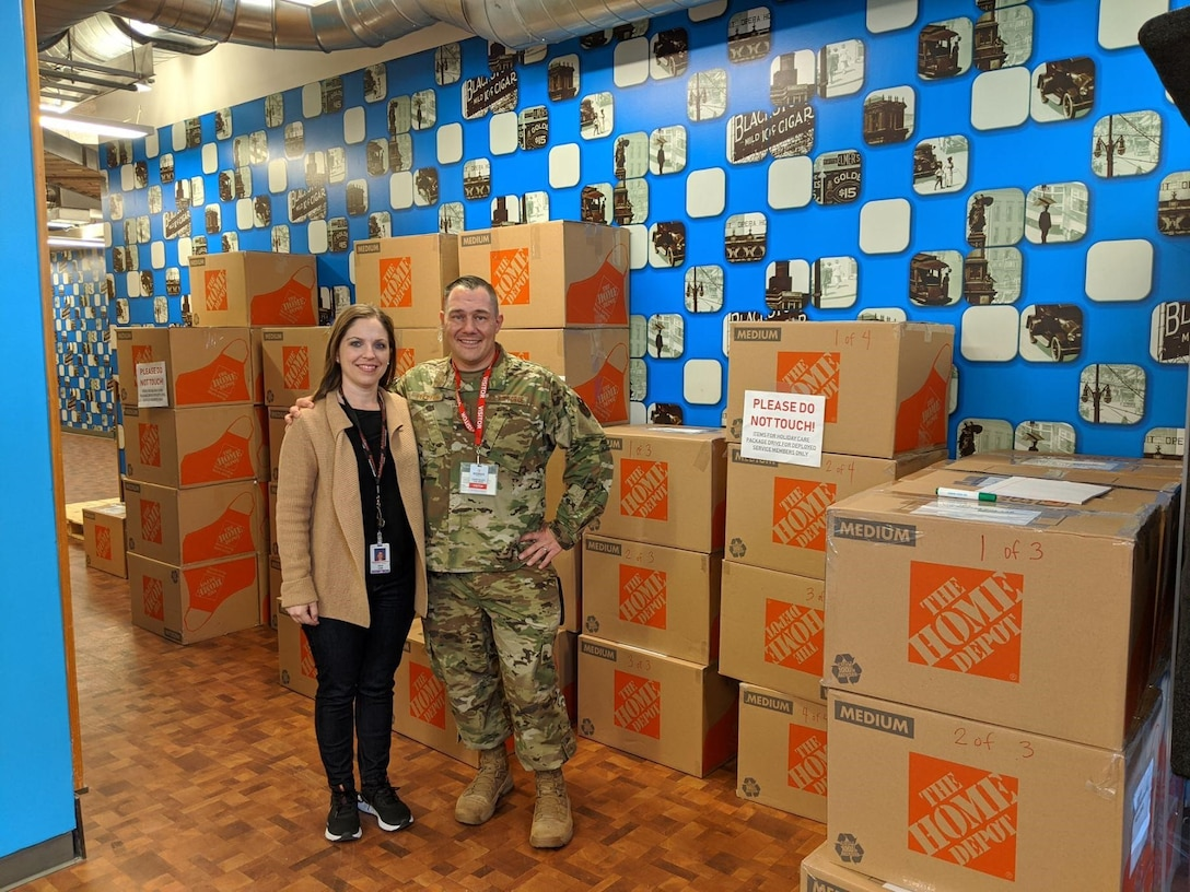 A Luke NCO, cousin send 1,500 care packages to deployed military members