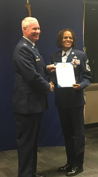 Meritorious Service Medal Presentation