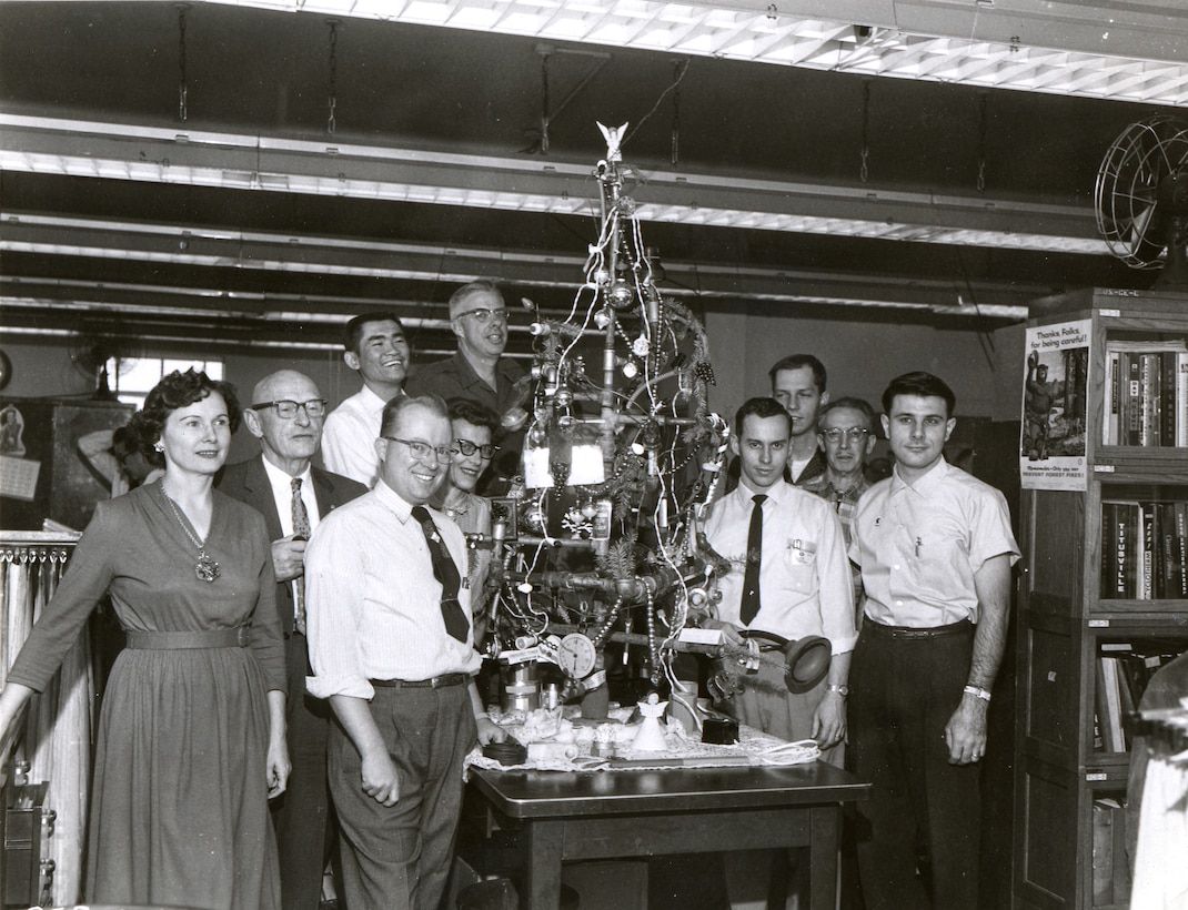 Holiday Pipe Tree 1960