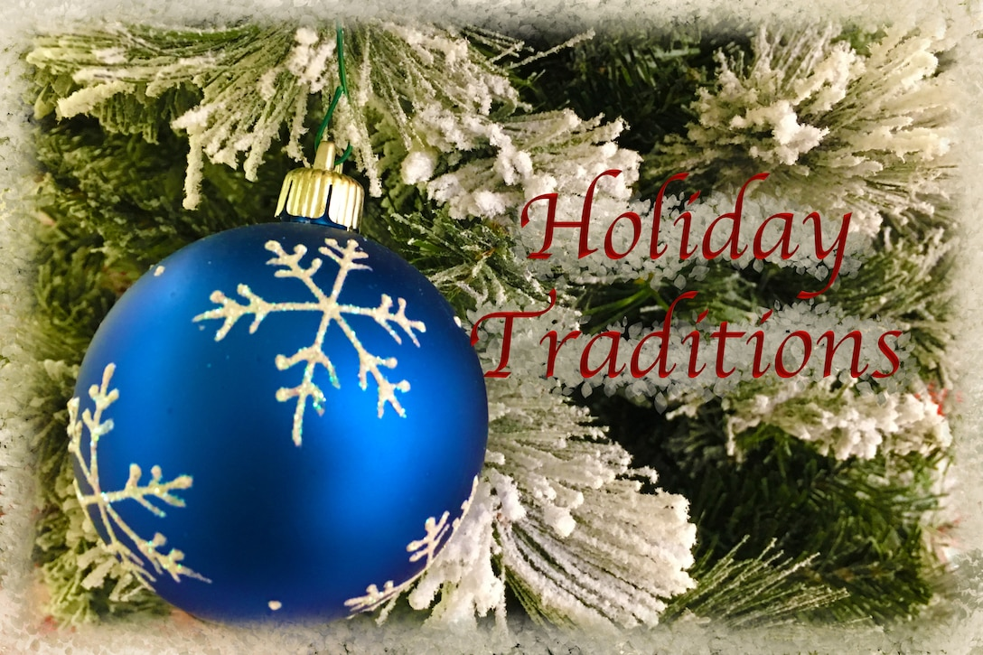 Holiday Traditions (U.S. Air Force graphic by Jessica L. Kendziorek)
