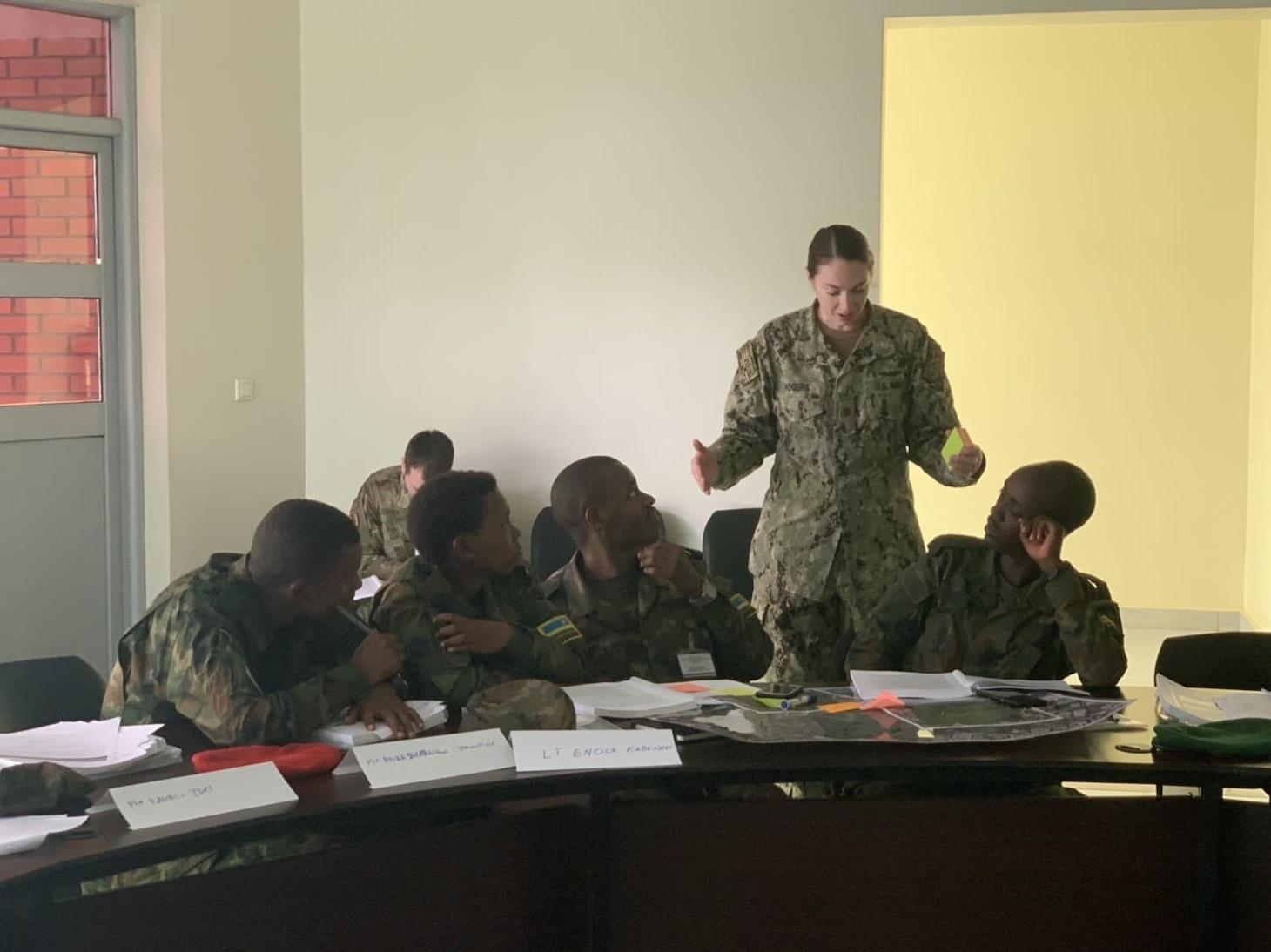 KIGALI, Rwanda;Rwanda Defense Forces; medical providers