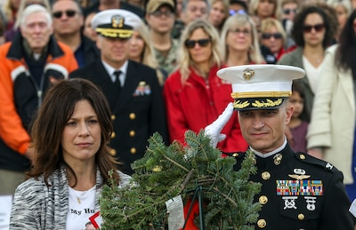 We Do It For The Fallen: Miramar National Cemetery's Annual Wreath Laying Ceremony