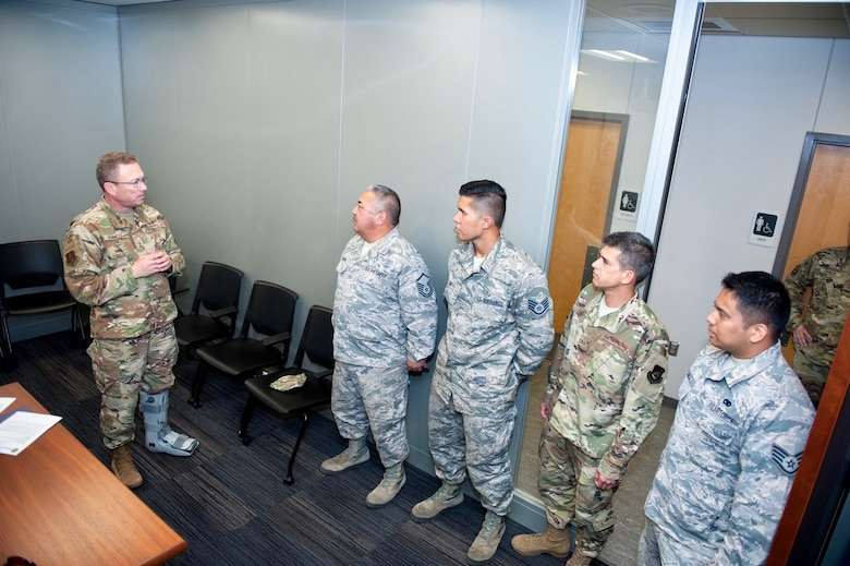AMC, 18th Air Force ANG leadership ensures morale, well-being for deployed Guardsmen