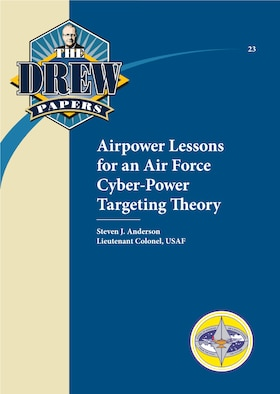 Book Cover - Airpower Lessons for an Air Force Cyber-Power Targeting Theory