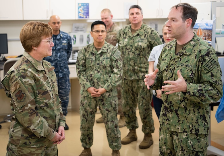 USAF Surgeon General visits Team Kadena