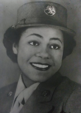 U.S. Army Air Corps Cpl. Lena Derriecott served as a nurse assistant at Douglas Army Air Base and overseas in England during World War II. (Photo courtesy Lena Derriecott)