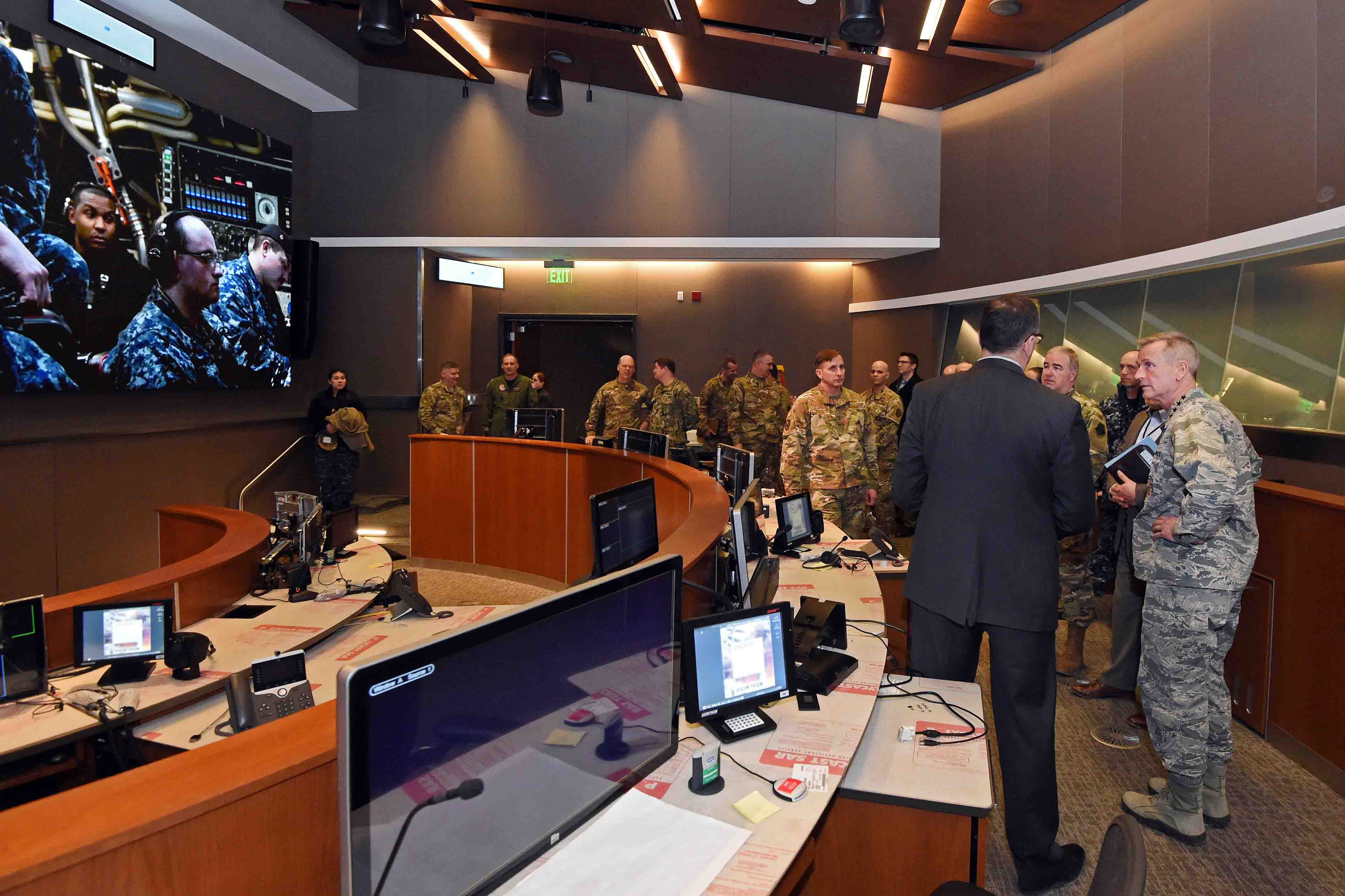 NORAD and USNORTHCOM Visits USSTRATCOM > U S  Strategic