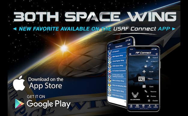30th Space Wing now available on USAF Connect app