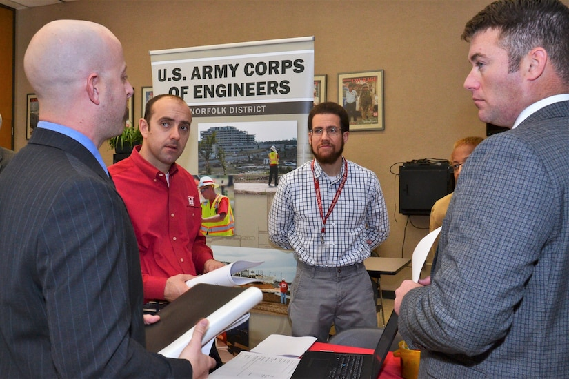 Federal hiring event held at Norfolk District