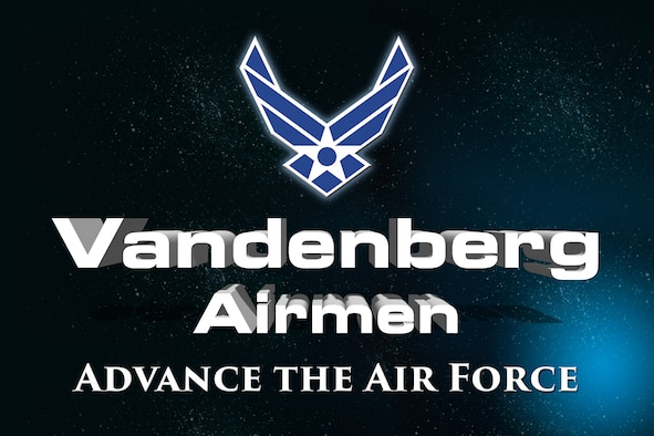 Vandenberg Airmen advance the Air Force at Vandenberg Air Force Base, Calif. Feb. 1, 2019. (U.S. Air Force graphic by Steven Heuring)