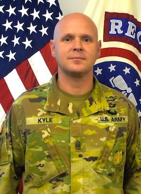 Official command photo: Command Sergeant Major Michael W. Kyle