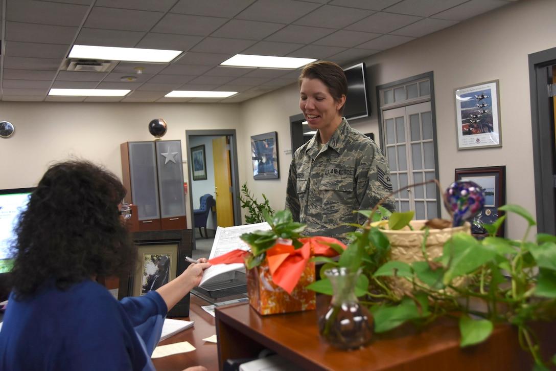 Westover Citizen Airman returns from deployment
