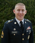 Sgt. 1st Class Todd Crawford, a recruiter with the Wyoming Army National Guard, was named the Army Guard's Recruiter of the Year in a ceremony and awards banquet Jan. 30, 2019, at the Bolger Center, Potomac, Maryland.