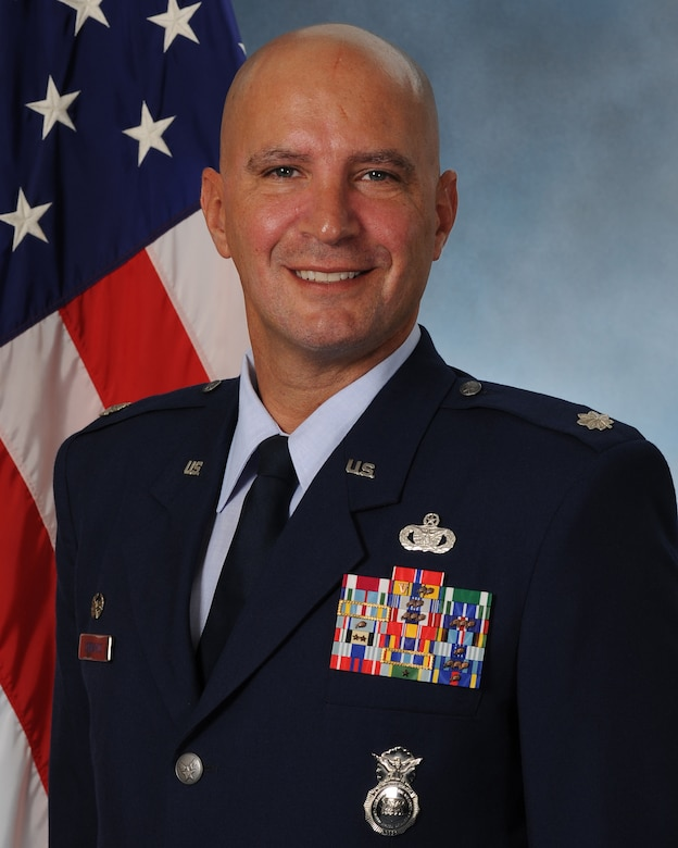 Official photo of Lt. Col. Kevin Lombardo, 341st Missile Security Forces Squadron commander.