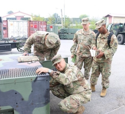 Maintenance Company from 2-1 ADA Defends 'Best in US Army Pacific' Title