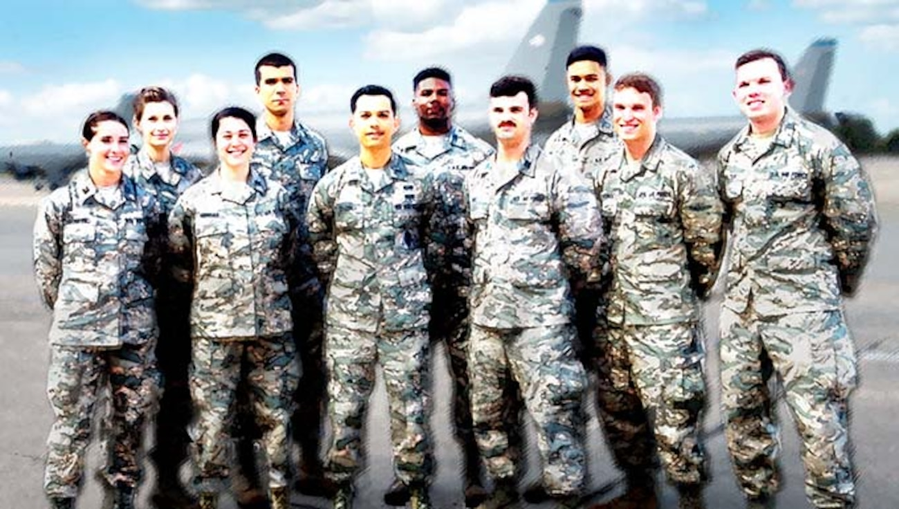 Image of Air Force personnel representing organizational recruitment, engagement, and retention.