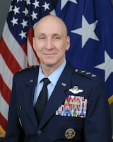 Official bio photo for Lt. Gen. David W. Allvin, Director for J5