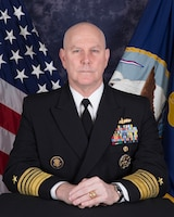 Admiral Christopher W. Grady Official Portrait