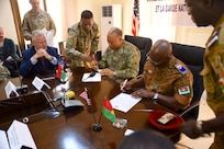 The District of Columbia National Guard and the National Armed Forces of Burkina Faso signed a partnership agreement on Friday, February 1, 2019 in Ouagadougou, Burkina Faso, formalizing D.C. and the West African nation as the newest partners in the Department of Defense's State Partnership Program.