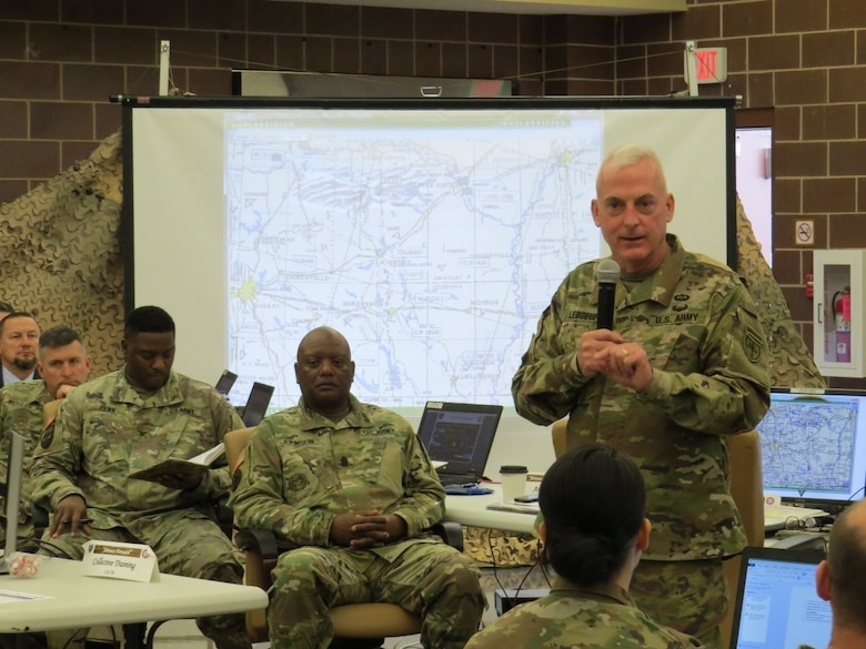 4th ESC conducts tactical yearly training brief