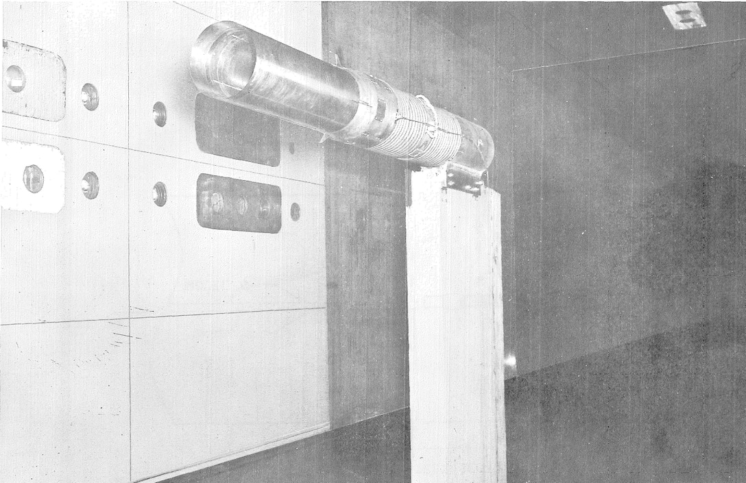 Dr. Bill Baker's first job at Arnold Air Force Base was in the AEDC Propulsion Wind Tunnel Facility. His first test as a project engineer was one conducted in the 16-foot supersonic wind tunnel, 16S. The object of that test was to measure the transition Reynolds Number of the tunnel and to measure the boundary layer on the walls of the tunnel at flows from Mach 2 to Mach 3. (U.S. Air Force photo)