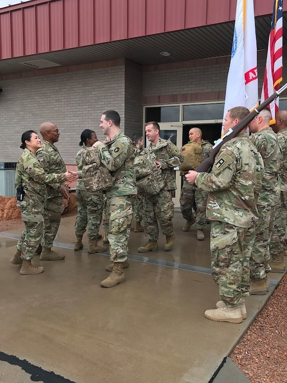Reserve quartermaster battalion carries out CONUS Replacement Center mission