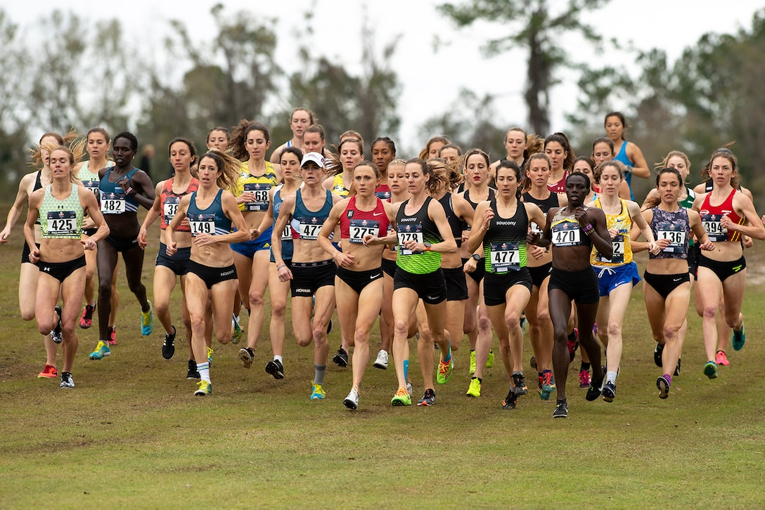 9 USA Track and Field Cross Country Championship in Tallahassee, Fl. Feb. 2, 2019. (DoD photo by EJ Hersom)