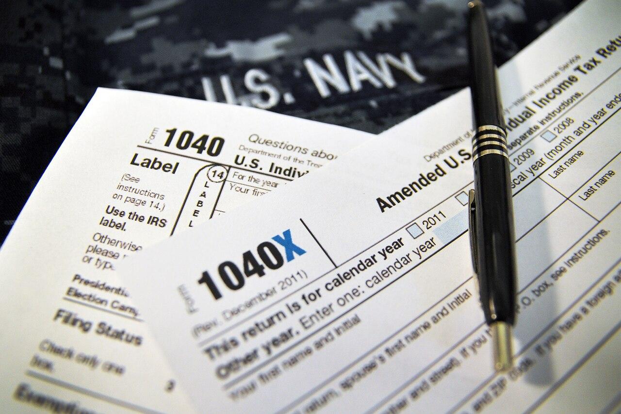 1040X tax forms.