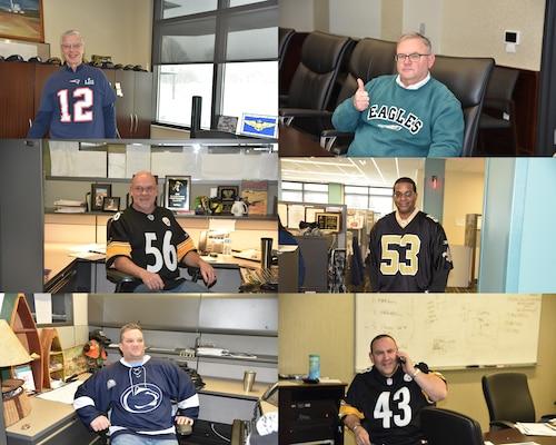 DLA Distribution Headquarters Employees Celebrate Jersey Day