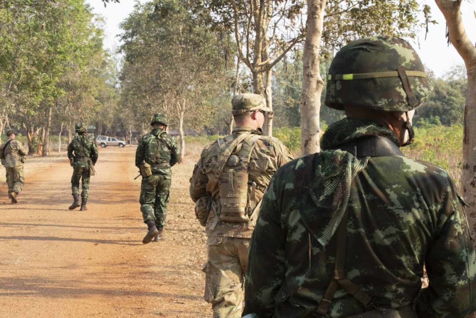 Combined Thai, U.S. C-IED training increases readiness for both armies