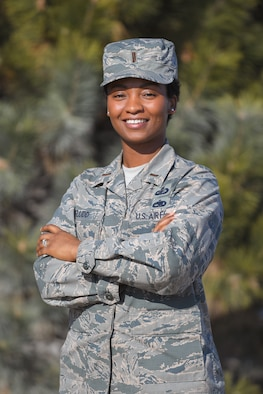 2nd Lt. Laketa Fludd, an acquisitions program manager with the Air Force Nuclear Weapons Center, dreamed of becoming an Air Force officer.  Through hard work, perseverance and the support of her husband, supervisors and leadership who believed in her, she achieved that goal.
