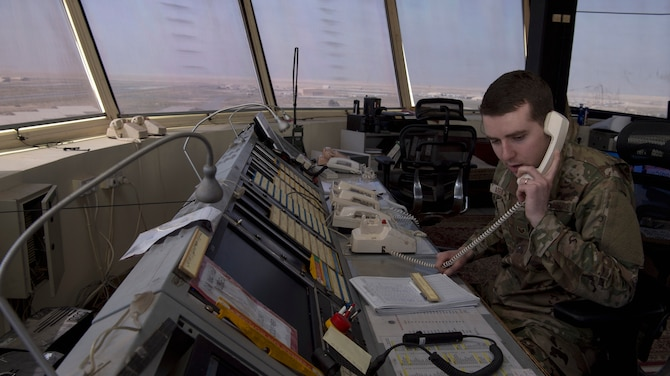 386th EOSS Air Traffic Control ensure readiness, safety