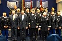 Army secretary honors top recruiters