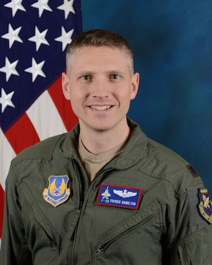 "Lt. Col. Tucker ""Cinco"" Hamilton is set to speak at the 2019 Engineers Week Banquet on Feb. 21 at UTSI. (Courtesy photo)"
