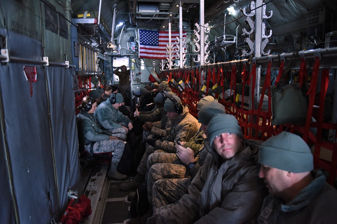 180FW Deploys to Patrick AFB for Winter Training