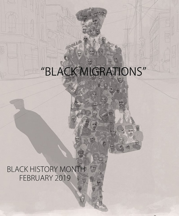 This year's Black History Month theme is Black Migration, emphasizing the movement of Black Americans and Americans of African descent. (U.S. courtesy photo)