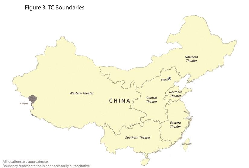Figure 3. TC Boundaries