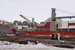 Military Sealift Command-chartered MV Ocean Giant Arrives in Antarctica as Part of Operation Deep Freeze