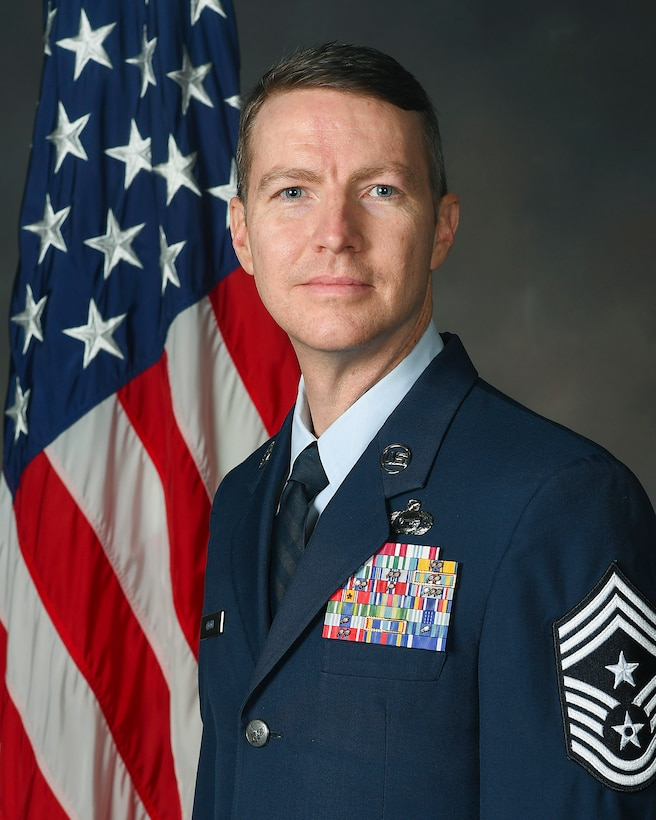 Chief Master Sgt. Troie Croft is the Air Force Life Cycle Management Center command chief.