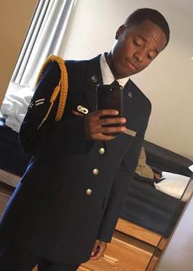 Senior Airman Elijah Evans