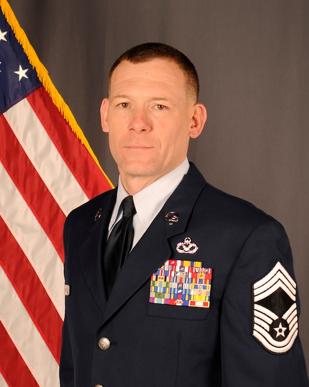 Chief Master Sgt. Daniel McNeil, 114th Civil Engineer Squadron operations superintendent, received the South Dakota Air National Guard Outstanding Senior NCO of the Year award.